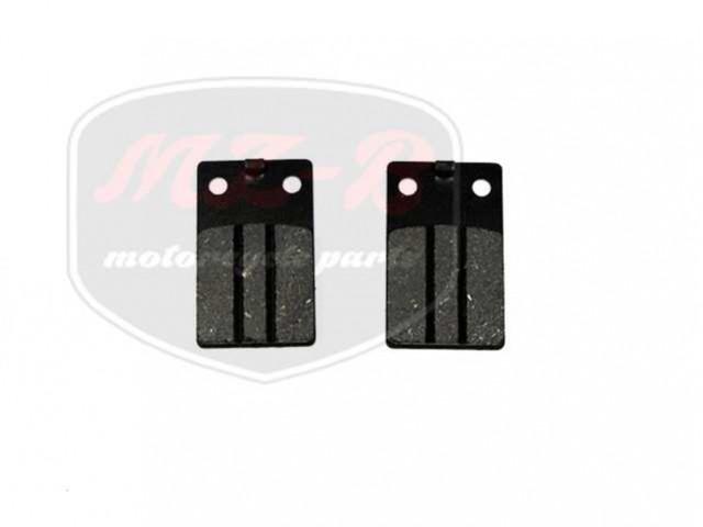 MALAGUTI F12 50 PHANTOM AC LC BRAKE PAD SET 31,5X52X5,5 F12