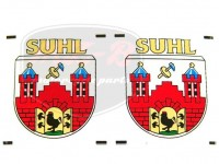 SIMSON SR2 DECAL PAIR