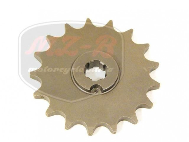 SIMSON 50 CHAIN SPROCKET T17 FRONT