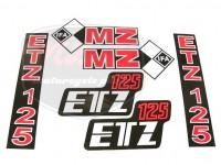 ETZ 125 DECAL SET