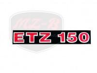 ETZ 150 DECAL 150